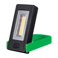 WORK LIGHT WITH ROTARY BASE 3W COB GREEN