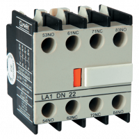 AUXILIARY CONTACS FOR CONTACTOR LT1-D 4NO