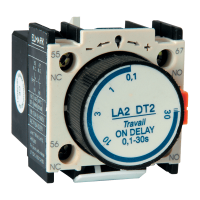 TIME DELAY CONTACT BLOCK FOR CONTACTOR LT1-D 0.1~3s NO+NC