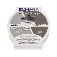 INSULATING TAPE 10mx19mm WHITE