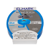 INSULATING TAPE 10mx19mm BLUE