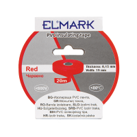 INSULATING TAPE 20mx19mm RED