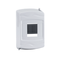 DISTRIBUTION BOX IP30  1-2 WAY SURFACE MOUNTING