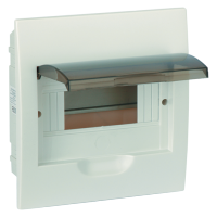 PLASTIC DISTRIBUTION BOX 6 WAY – BUILT-IN MOUNTING