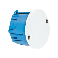 DISTRIBUTION BOX FOR PLASTERBOARD DIAMETER 80MM