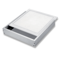 FRAME SURFACE MOUNT LED PANEL 295X1195 WHITE FOR LED PANEL H-30mm