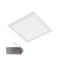 LED PANEL 48W 6400K 595x595mm WHITE FRAME +EMERGENCY KIT