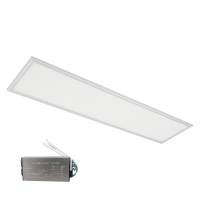 LED PANEL 48W 4000K 295x1195mm IP44 WHITE FRAME +EMERGENCY KIT