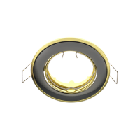 SA-91 SPOTLIGHT GRAPHITE/GOLD FOR 12V MR16 LAMP