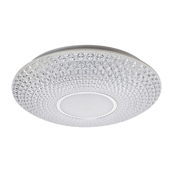 LUCE LED CEILING LAMP 24W WITH REMOTE CONTROL CHROME
