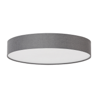 SHELLY LED CEILING LAMP 18W WITH REMOTE CONTROL DARK GREY