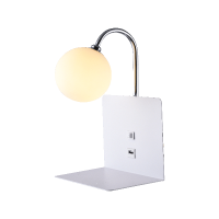 BETTY WALL LAMP 1xG9 WITH USB WHITE