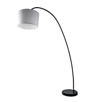 KILIE FLOOR LAMP 1xE27 WHITE