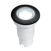 CECI 90 LED IN-GROUND FIXTURE 3.5W 4000K IP67 BLACK