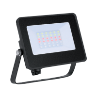 LYRA15 LED FLOODLIGHT 15W RGB IP65 WITH INFRARED REMOTE CONTROL