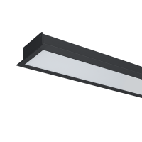 ULTRA THIN LED PROFILE RECESSED S36 22.5W 4000K BLACK