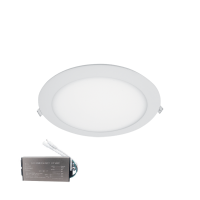 LED PANEL ROUND WATERPROOF 18W 6500K IP44+ EMERGENCY KIT