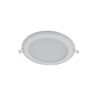LED GLASS PANEL ROUND 18W 2700K