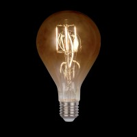 LED VINTAGE LAMP DIMMABLE 5W E27 D130 2800-3200K GOLDEN GLASS