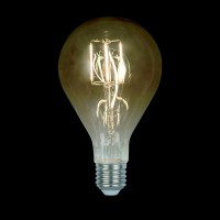 LED VINTAGE LAMP DIMMABLE 5W E27 D130 2800-3200K SMOKED GLASS