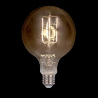 LED VINTAGE LAMP DIMMABLE 5W E27 D150 2800-3200K GOLDEN GLASS