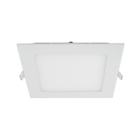 STELLAR LED PANEL SQUARE RECESSED MOUNT 12W 6500K