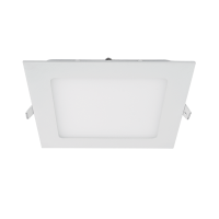 STELLAR LED PANEL SQUARE RECESSED MOUNT 12W 2700K