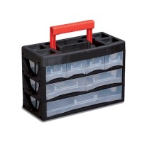 PLASTIC ORGANIZER WITH DIVIDERS 3x11 SECTIONS