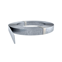 HOT-DIP GALVANIZED STRIP 49kg 40X4mm ST FT-39m