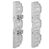 PAIR OF UPRIGHTS FOR RAIL DIN AND PANELS DP5002