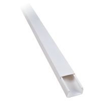 2M 100x60 PLASTIC CABLE TRUNKING CT2