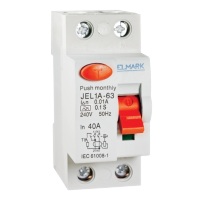 RESIDUAL CURRENT DEVICE JEL1A DC 2P 100A/30MA