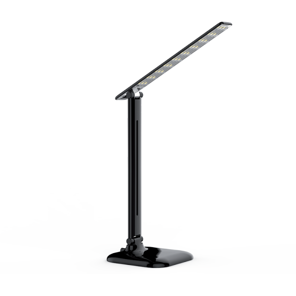 LED DESK LAMP DIMMABLE 9W 4000K BLACK