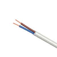 ELECTRICAL CABLE H05VV-F 2X0.75MM² 0.3/0.5kV