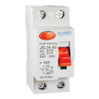 RESIDUAL CURRENT DEVICE JEL1A 2P 32A/30MA