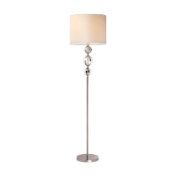 MAYA FLOOR LAMP 1XE27 CHROME D400XH1630mm