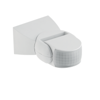 ST15 MOTION AND LIGHT SENSOR 180° IP65 WHITE