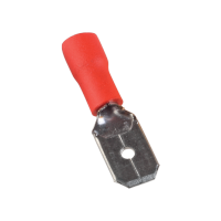 INSULATED CABLE TERMINALS MDD MALE 1.25-250/RED (100 pcs. per pack)