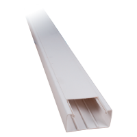 2M 15x10 SELF ADHESIVE PLASTIC CABLE TRUNKING CT2