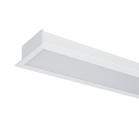 LED PROFILES RECESSED MOUNTING S48 24W 4000K 1200MM WHITE