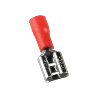 INSULATED CABLE TERMINALS FDD FEMALE 1.25-250/RED (100 pcs. per pack)