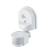 ST10A MOTION AND LIGHT SENSOR 180° IP44 WHITE