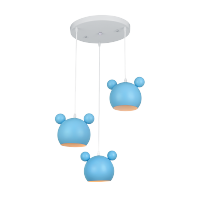 MICKEY CHANDELIER 3XE27 BLUE