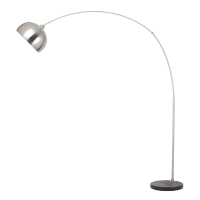 ROY FLOOR LAMP 1XE27 SATIN NICKEL H2120mm
