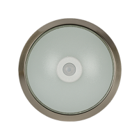 SENSOR CEILING FIXTURE 2XE27 SATIN NICKEL D300