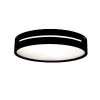 DONNA CEILING LAMP 3XE27 BLACK WOOD D400mm