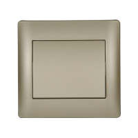 RHYME ONE BUTTON CROSS SWITCH CHAMPAGNE METALLIC