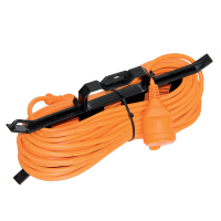 EXTENSION CORD 10M H05VV-F 3G1.5mm2 ORANGE